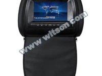 Tetiere WITSON CU DVD Jocuri Lcd 7 Inch REZOLUTIE HD Dvd Sony Husa Usb Sd Divx Modulator Fm Joystick Wireless MODEL 2012