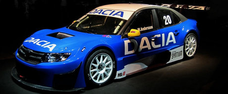 Tot ce trebuie sa stii despre noua Dacia Logan STCC - Peste 400 cai putere si 270 km/h