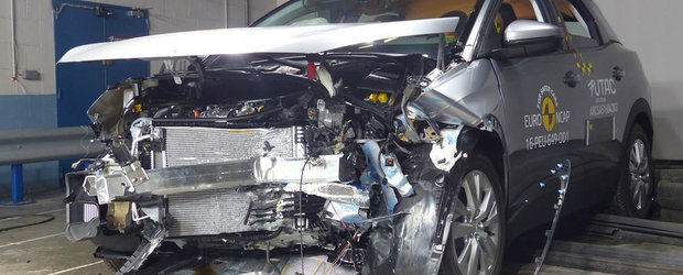 Toti 'pasagerii' au scapat cu viata din acest accident rutier