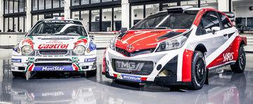Toyota revine in WRC peste doi ani cu un Yaris de 300 cp