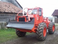 Tractor articulat forestier 657