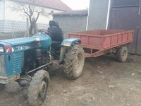 Tractor Litaihan 4X4 + remorca.