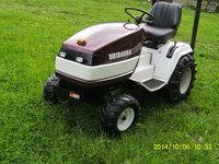 Tractoras  shibaura