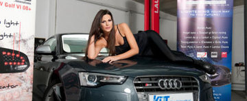 Transformarea unui Audi A5 by KITT Romania