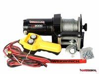 Troliu ATV 2000 LBS 12v 310 lei