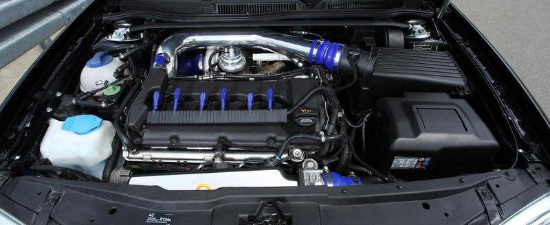 Tuning de 650 CP si 20.000 euro pentru vechiul VW Golf IV