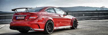 Tuning la superlativ: 850 CP, Bi-Turbo si 4Matic pentru Mercedes C63 AMG Black Series