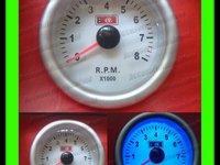 TUROMETRU Ceas Suplimentar Auto 57MM Lumina Plasma 8000 Rpm