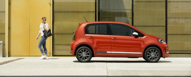 Uite cum arata noua generatie a Volkswagen-ului up!, cea mai mica masina a nemtilor