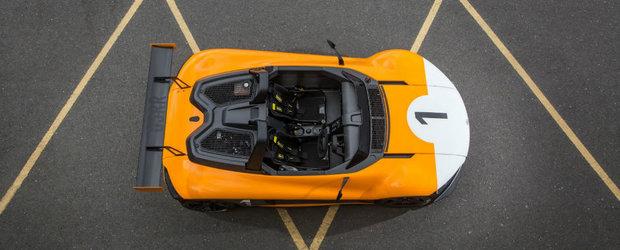 Uite masinuta care cu ai sai 385 de cai putere se ia de tricou cu McLaren-ul P1