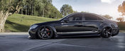 Umflat si lasat pe burta: Tuningul perfect pentru Mercedes S-Class