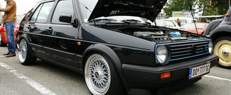 Un austriac vrea 40.000 euro pe un Golf 2 din anii '90. Secretul masinii