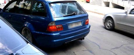 Un BMW M3 break de 800 cp din Braila este cu adevarat un monstru