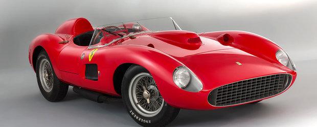 Un Ferrari 335 Sport Scaglietti devine cea mai scumpa masina vanduta la o licitatie