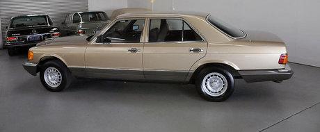 Un Mercedes S-Class din '82 e cadoul perfect pentru fanii limuzinelor old-school