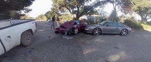 Urmarile unui accident auto cu pagube de sute de mii de dolari