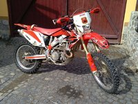 Vand Honda crf 450 x