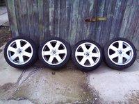 """Vand jante originale Audi a3 17"""" + pneuri de iarna 225/45r17"""