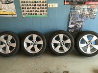 "Vand set jante BMW originale pe 17"" ptr BMW seria 5"