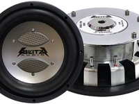 Vand sistem audio auto 2x subwoofer + statie Blitz USA accept schimbur
