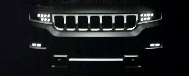 Varful de lance al americanilor de la Jeep dezvelit inainte de vreme. Se numeste Grand Wagoneer si vine in 2019