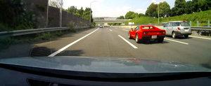 VIDEO din Japonia: Un Ferrari 288 GTO... ramane fara o roata