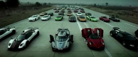 VIDEO: SportsCar Club ne ofera cea mai tare parada de supercaruri din lume!