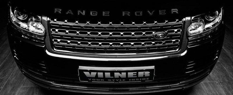 Vilner imbraca in carbon noul Range Rover Autobiography