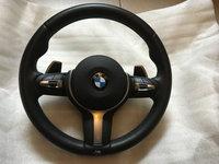 Volan BMW M Sport cu padele BMW F15 F16 F30 F31 F32 F20 F25