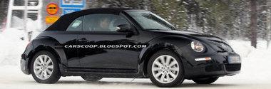 Volkswagen ar putea prezenta la Geneva noul Beetle Cabrio