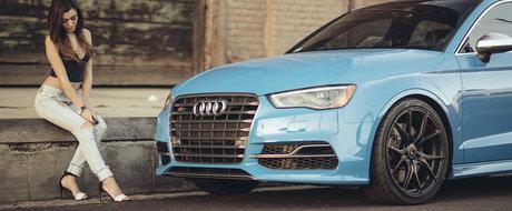 Vorsteiner ne arata noile sale jante pentru Audi S3. Si nu numai