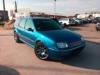VW Bora Combi 1.9TDI Climatronic - model special 2002