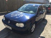 VW Golf 1.6 16v AZD 2002
