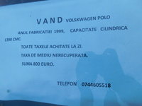 VW Polo 1.5 dCI laureate 1999