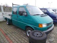 VW VOLKSWAGEN T4 - 2.4D Doka Pritsche 6 locuri Camioneta Autoutilitara cu Lada/Bena