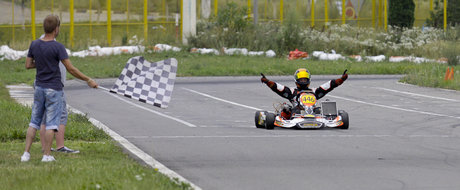 Week-end plin de viteza, la AMC Kart Tunari!