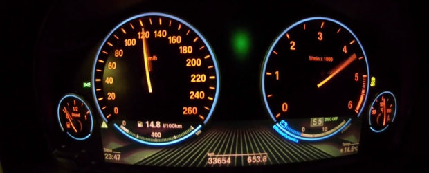 0 - 200 km/h la bordul unui BMW diesel cu 510 CP sub capota