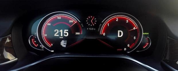 0 - 230 kilometri pe ora la bordul noului BMW Seria 7