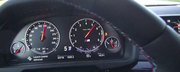 0 - 240 kilometri pe ora la bordul noului BMW X5 M