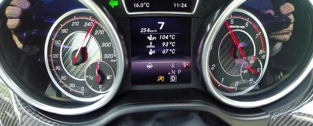 0 - 250+ kilometri pe ora la bordul noului GLE63 AMG S Coupe