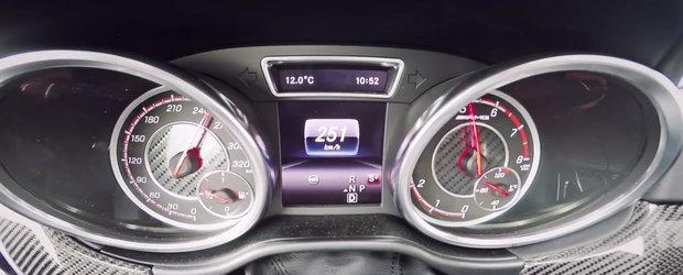 0 - 250 kilometri pe ora la bordul noului Mercedes GLE63 AMG S Coupe