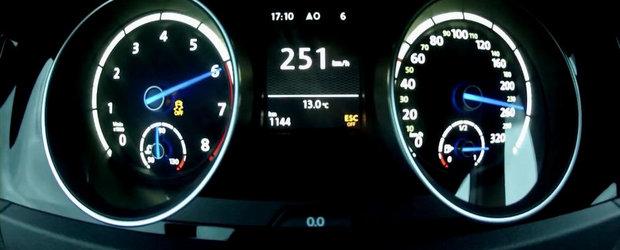 0 - 250+ kilometri pe ora la bordul noului Volkswagen Golf R