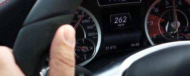 0 - 262 kilometri pe ora la bordul noului Mercedes A45 AMG