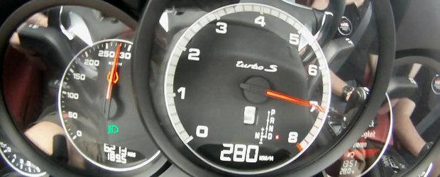 0 - 280 kilometri pe ora la bordul noului Porsche 911 Turbo S