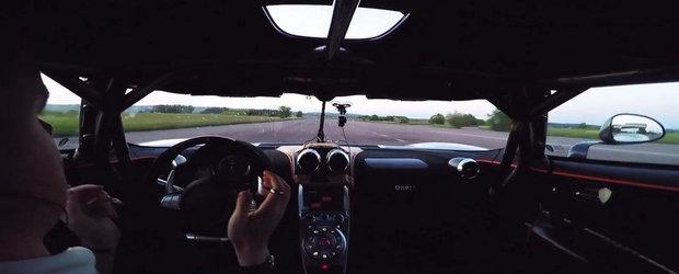 0-300-0 km/h in 17.95 secunde. Si fara maini pe volan!