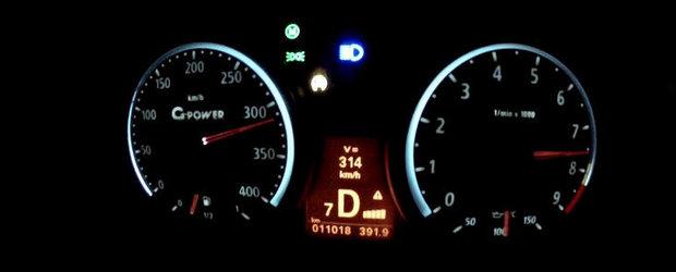 0 - 314 km/h la bordul unui... BMW Seria 1. VIDEO AICI!