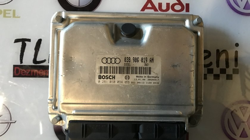 038906019AN, 0281010094 calculator motor Audi A4 B5 1.9AJM