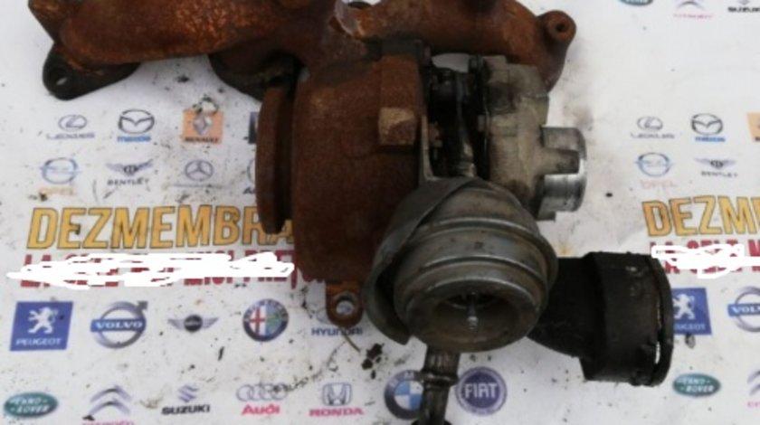 03G253014J turbina turbosuflanta mitsubishi outlander 2 motor 2.0 D 140cp BSY grandis 2008