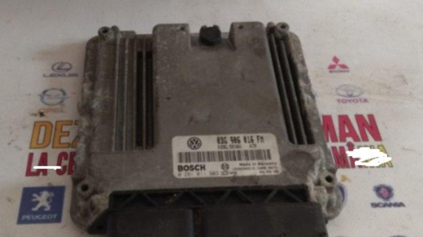 03g906016fm calculator ecu vw golf 5 motor 2.0 tdi bkd dezmembrez audi a3 8p touran jetta