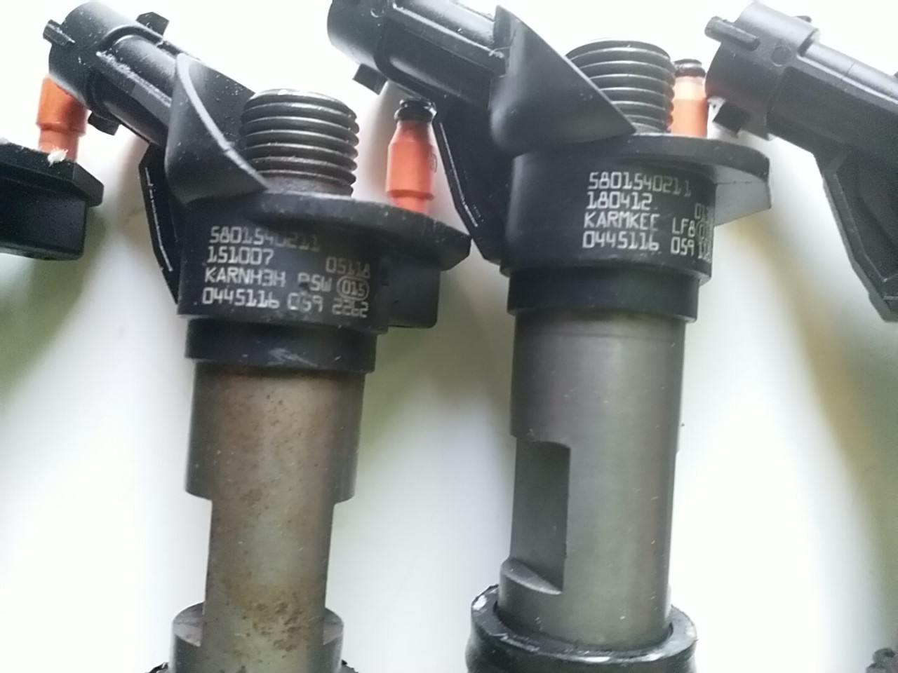 0445116059 Injector Citroen Jumper Peugeot Boxer 3.0 HDi Fiat Ducato Multijet 3.0 D Iveco Daily IV 3